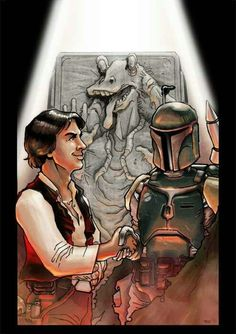 In an alternate Star Wars universe. I really wish the background came true