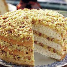 Southern Lane Cake Recipe | Grandma's Kitchen