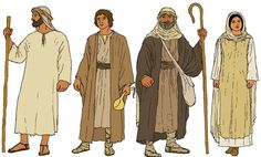time of christ clothing | the attire worn during Bible times