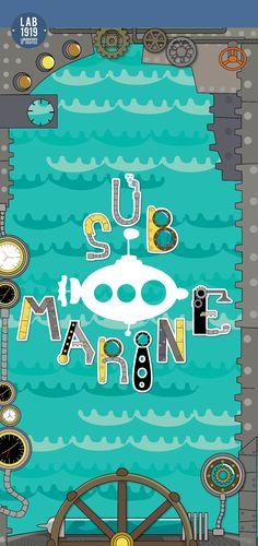 #submarine #illustrazione #infanzia