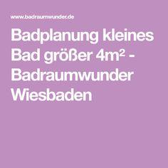 Badplanung kleines Bad größer 4m² - Badraumwunder Wiesbaden