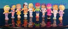 Super Rare Mattel POLLY POCKET Total 10 Dolls Bluebird promo pak  90's Style A #Bluebird #Dolls