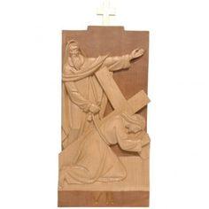 Vía Crucis 14 estaciones 40 x 20 cm madera de la Valgardena | venta online en HOLYART