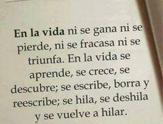En la vida.