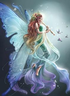 i love the fantasy/mystical creatures fairies and dragons are interesting to me Fairy Dust, Fairy Land, Fairy Tales, Fantasy Kunst, Fantasy Art, Fantasy Fairies, Fantasy Images, Real Fairies, Fantasy Pictures