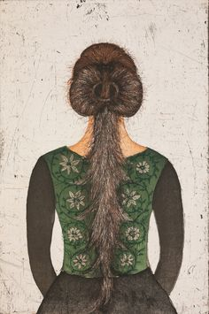 "Kirsi Neuvonen: ""Läsnä (Present)"", Grafiikkaa - Galleria 12 Oy (etching, aquatint) Finnish Women, Artist Portfolio, African Hairstyles, Contemporary Artists, Printmaking, Designer, Art Prints, Genere, Suddenly"