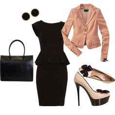 Fashionable at the Office, created by amandajupena.polyvore.com