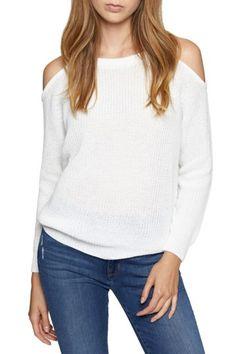 Image of Sanctuary Riley Cold Shoulder Sweater (Regular & Petite)