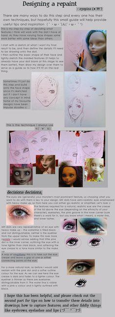Designing a repaint pt.1, by eyepins.deviantart.com on @deviantART