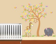 childrens removable vinyl wall decal Tree with by wallinspired, $99.00