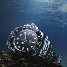 The Rolex Submariner is truly a creature of the sea. Created in 1953, it was the first wristwatch waterproof to a depth of 100 metres (330 feet). The archetype of the divers' watch, its appeal has swiftly expanded well beyond the element of its birth to become an emblematic all-round watch.