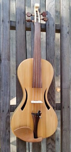 Cornerless violin #22 handcrafted geige luthier burgess powerful in Musical Instruments & Gear | eBay