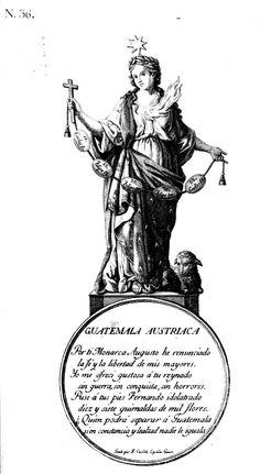 Historia Militar de Guatemala: Grabados coloniales del Reino de Guatemala