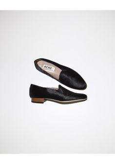 Acne Studios Noa Pony Loafer | La Garçonne