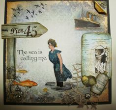 Utes kreative Seite: The sea is calling me