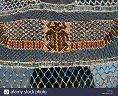Ancient Egyptian Dress Made Of Beads, Faience And Turquoise, Old Stock Photo, Royalty Free Image: 90838553 - Alamy