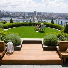 Roof terrace garden on pinterest 55 pins for Designburo aachen