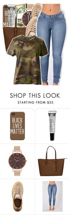 """"" by glowithbria ❤ liked on Polyvore featuring Olivia Burton, Michael Kors, Puma and Valentino"