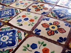 Tiles at La Taqueria Menudo, San Francisco