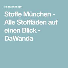 Stoffe München - Alle Stoffläden auf einen Blick - DaWanda