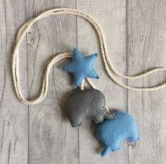 Elephant curtain ties nursery curtain tie-backs nursery