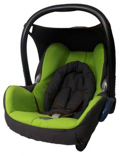 Baby Car Seat Cover Full Set Dark Green