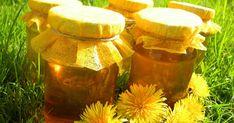 Honey of dandelion flowers Dandelion Flower, Herbs, Flowers, Recipes, Cukor, Honey, Herb, Ripped Recipes