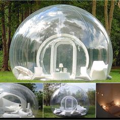 Inflatable tent ... So amazing