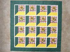 Sunflower Quilt Pattern | Sunflower Attic Window