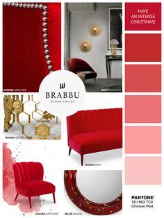 BRABBU wishes you an intense Christmas! | Christmas Decorations. Interior Design. Home Decor. #homedecor #interiordesign #Christmas Discover our collection at brabbu.com