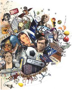 """""""Íconos de la Argentina""""; ilustrador: Pablo Bernasconi ¿Quiénes son los 5 personajes que aquí se muestran?  ¿A qué se dedicaban? ¿Cómo se llaman los objetos?  ¿Para qué se usan?  Más íconos: """"YPF, Orgullosos"""" http://www.youtube.com/watch?v=5U6iKMRDVzA"""