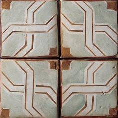 Tabarka Studio Moroccan Tile Attic Apartment, Apartment Design, Porch Tile, Tabarka, Mediterranean Tile, Large Format Tile, Tile Art, Mosaic Tiles, Mosaics