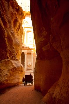 Petra - the Ancient Rock-Cut Capital of the Nabataens in Jordan. This needs to be on your bucket list! Click for Why!