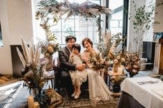 NOW AND FOREVER / WEDDING | ARCH DAYS Boho Wedding, Wedding Flowers, Now And Forever, Dried Flowers, Arch, Groom, Bouquet, Table Decorations, Bride
