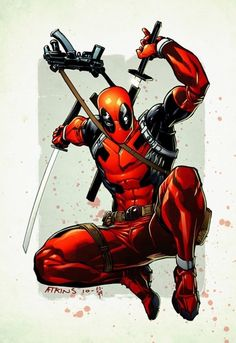 """Deadpool - """" The Merc With a Mouth """" is one of the best characters in the comic book genre!"""