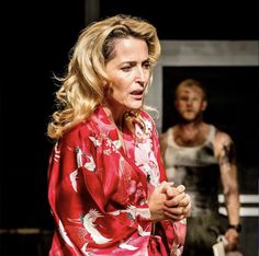 A Streetcar Named Desire National Theatre Live, Streetcar Named Desire, Gillian Anderson, Leather Jacket, Famous People, Drama, Instagram, Fashion, Studded Leather Jacket