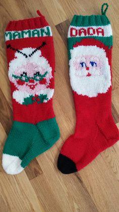 Mary maxim Christmas stockings