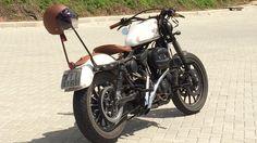 #harley #883 #sportster #bobber #bagger #custom