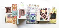 Advent Calendar Bunting - Calendario de Adviento  Guirnalda