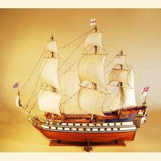 HMS Unicorn Model Ship by Stephens & Kenau Ship Model Builders
