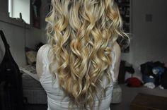 I really love curly hair.