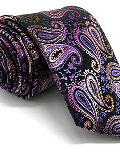 Herrer Slips-Kontor / Casual Rayon-Paisley