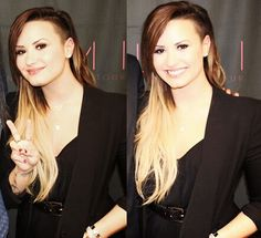 Demi Lovato - love her hair
