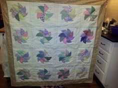The 24-hour quilt. SOLD.