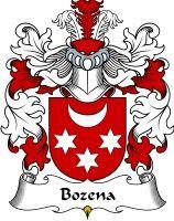 Bozena Coat of Arms / Polish family crest #heraldry #coat of arms #code of arms #genealogy #clan #crest #shield