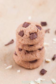 Backen macht glücklich | Die besten Low Carb Cookies mit Schokolade | http://www.backenmachtgluecklich.de