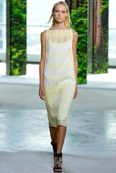 Look 13 of 41 Spring 2015 Ready-to-Wear Boss Model Harleth Kuusik (The Society)