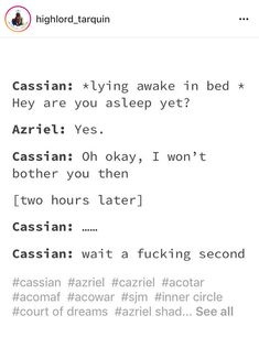 WE DONT GIVE CASSIAN NEARLY ENOUGH CREDIT! But still, true.