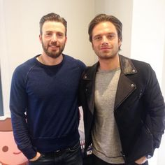 Chris and Sebastian