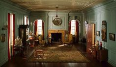 Thorne Miniature Rooms - 1 in to 1 foot models of detailed miniature rooms of the 13th - 20th century